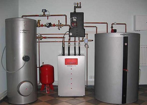 Фото: Система электрического отопления