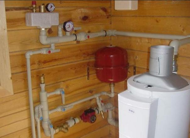 Фото: Система отопления частного дома