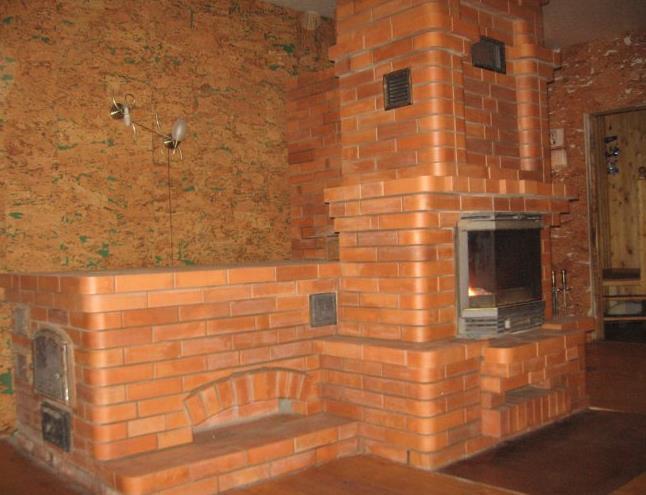 Фото: Печное отопление дома