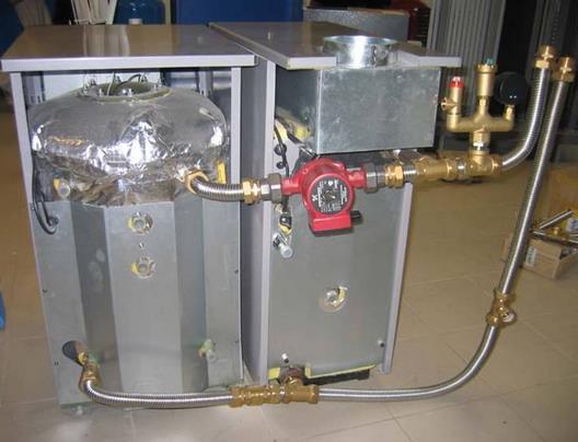 Фото: Обвязка котла отопления