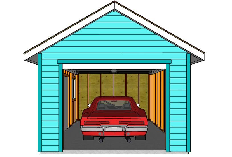 Фото: Отопление гаража