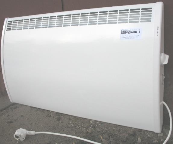 Фото: Электрический радиатор фирмы Евромаш