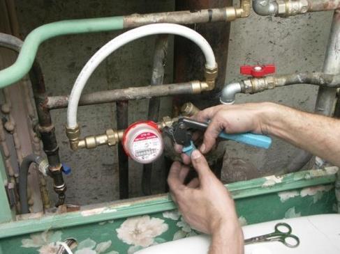 Фото: Монтаж в систему отопления