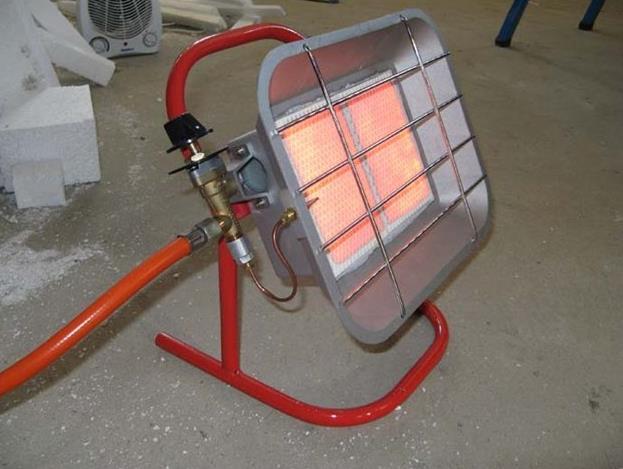 Фото: Обогреватель для отопления гаража
