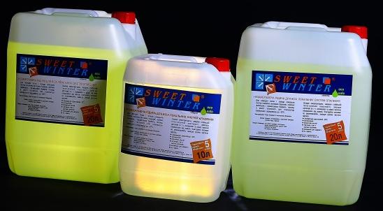 Фото: Жидкости для систем отопления